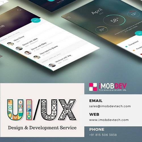 UI UX Design & Development Service - iMOBDEV - Cop