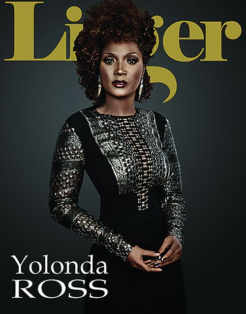 Actor Yolonda Ross graces the cover of the 2018 print issue.