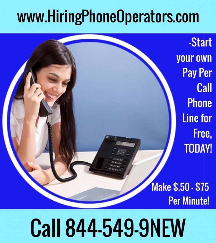 Hiring phone sex operator