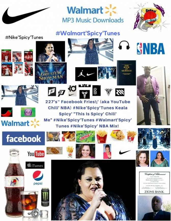 227's™ Facebook Fries!¡' (aka YouTube Chili' NBA) #Nike'Spicy' Keala NBA Mix!