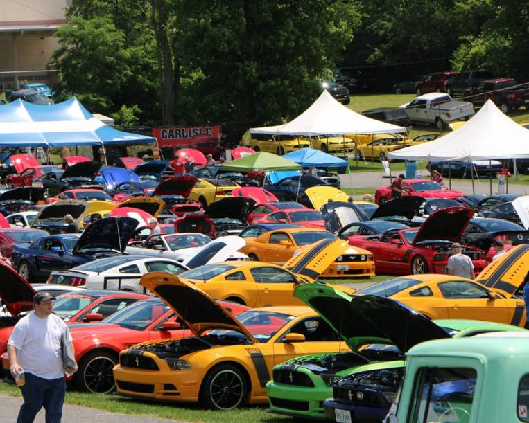 Big Gets Even Bigger At The Carlisle Ford Nationals In