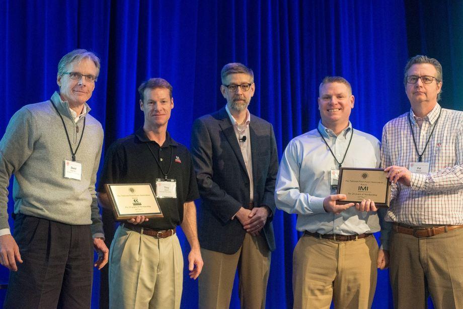 Representatives fromCamozzi Pneumatics Inc. and IMI Precision Engineering