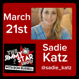 Sadie Katz on The Jimmy Star Show With Ron Russell