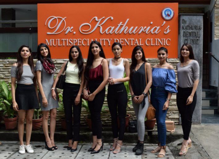 Delhi Finalists - Yamaha Fascino Miss Diva Universe India 2017
