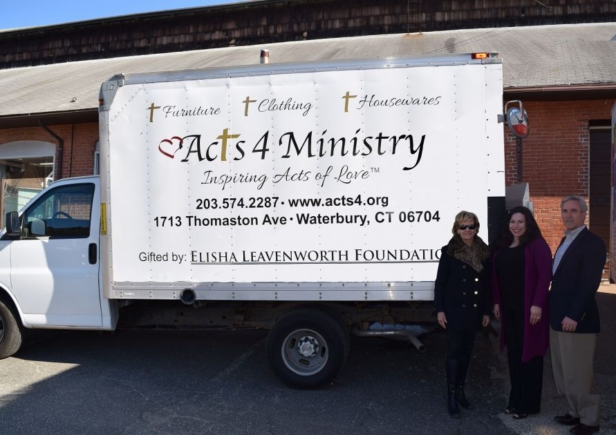 From ELF grants, Acts 4 Ministry was able to acquire a used box truck