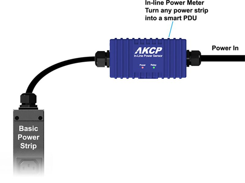 Power Meters In Line : Akcp announces in line power meters upgrade for computer