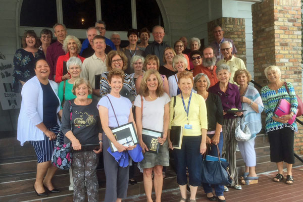 SHINE volunteers were honored for their dedication to Medicare counseling