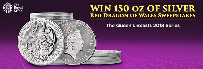 Queen's Beasts Red Dragon Sweepstakes
