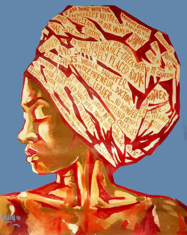Steve Green, She Is, 2016, archival print on paper