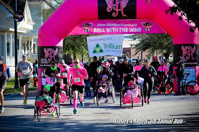Ainsley's Angel's races celebrate inclusion.