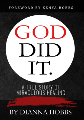 God Did It is the new book from Dianna Hobbs