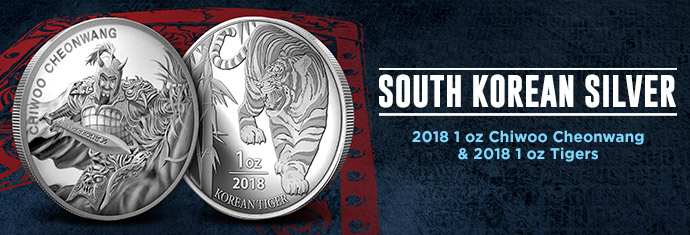 2018 Chiwoo and Tiger Medals