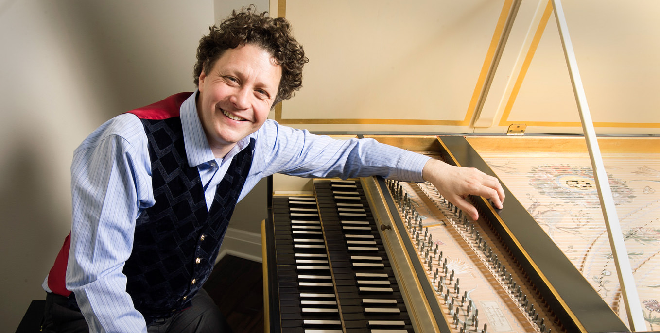 Grammy Award nominated harpsichordist Jory Vinikour to perform at Thiel College