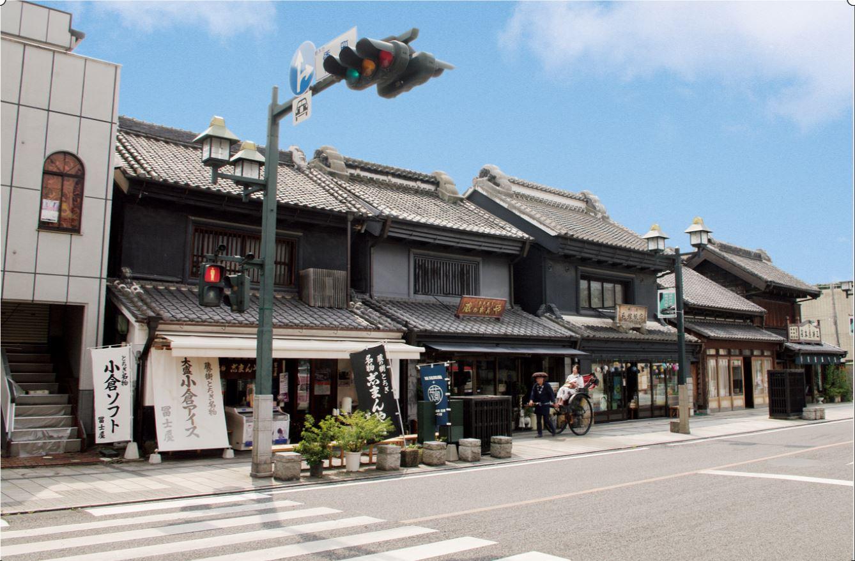 Tochigi City Street Scene