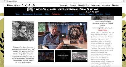 16th Annual Oakland International Film Festival -OIFF.org