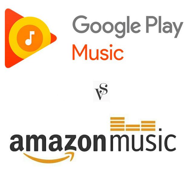 Google Play Music And Amazon Music