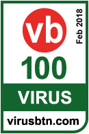VB100 Certificate to eScan