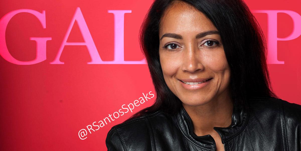 Rosann Santos Gallup Strengths Coach @RSantosSpeaks