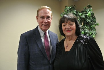 """5 Love Languages"" Author Dr. Gary Chapman, LFC Founder Kathy Miller"