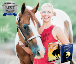 Amazon Best Selling Equine Author Carly Kade & her Paint Horse