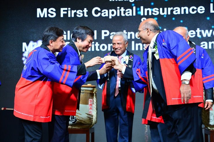A toast to MS First Capital's inauguration
