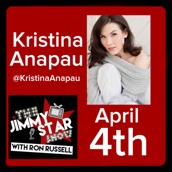 Kristina Anapau on The Jimmy Star Show With Ron Russell April 4th, 2018