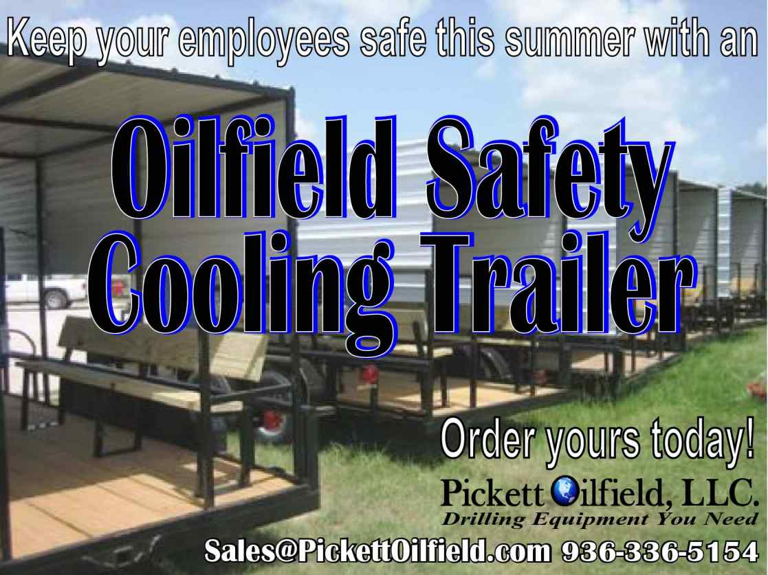 Oilfield Safety Cooling Trailer