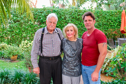 Howard, Beverlee and Tim Schnellenberger