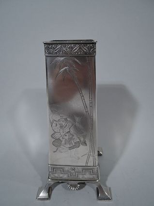 antique sterling silver tiffany japonesque sterlin