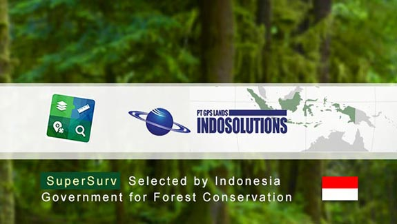 SuperSurv Selected by Indonesian Agency for Forest Conservation