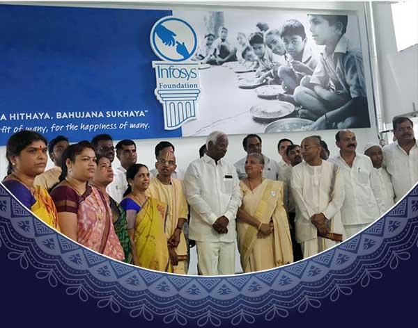 Kandi kitchen inauguration