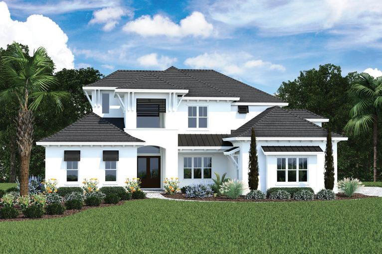 The Tidewater by Arthur Rutenberg Homes by Mark Refosco at EvenTide