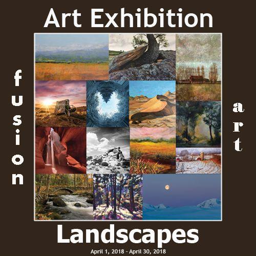 3rd Landscapes Art Exhibition - April 1-30, 2018