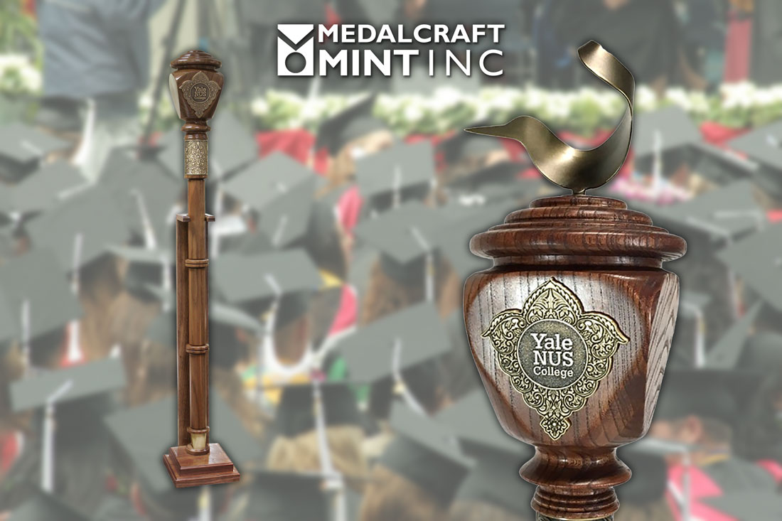 Ceremonial mace from Medalcraft Mint