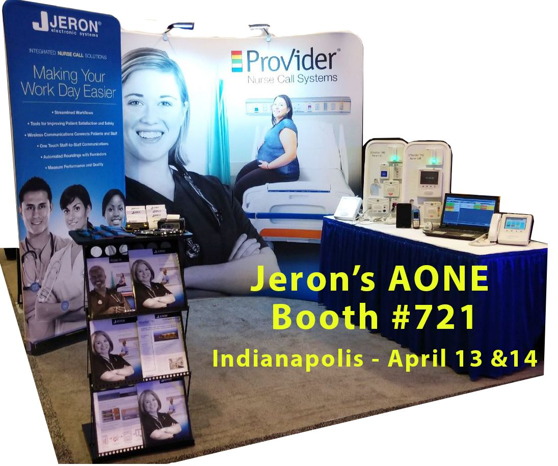 Visit Jeron at AONE - Booth #721