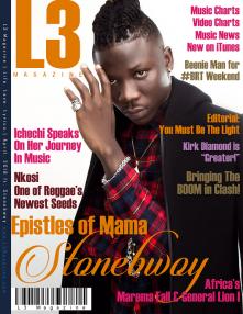 L3 Magazine - 2018 - April ft. Stonebwoy (small)