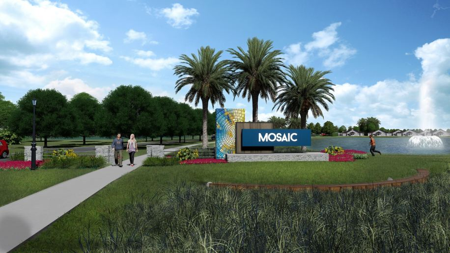 Mosaic is a new community in Daytona Beach by ICI Homes.
