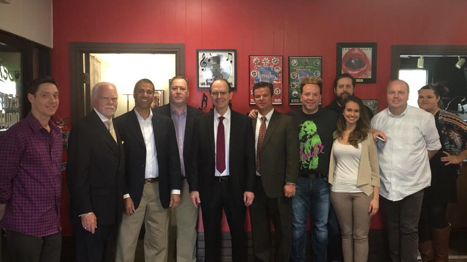 FCC Chairman Ajit Pai visits Flinn Broadcasting