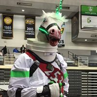 Fred the Space Unicorn, Team Mascot