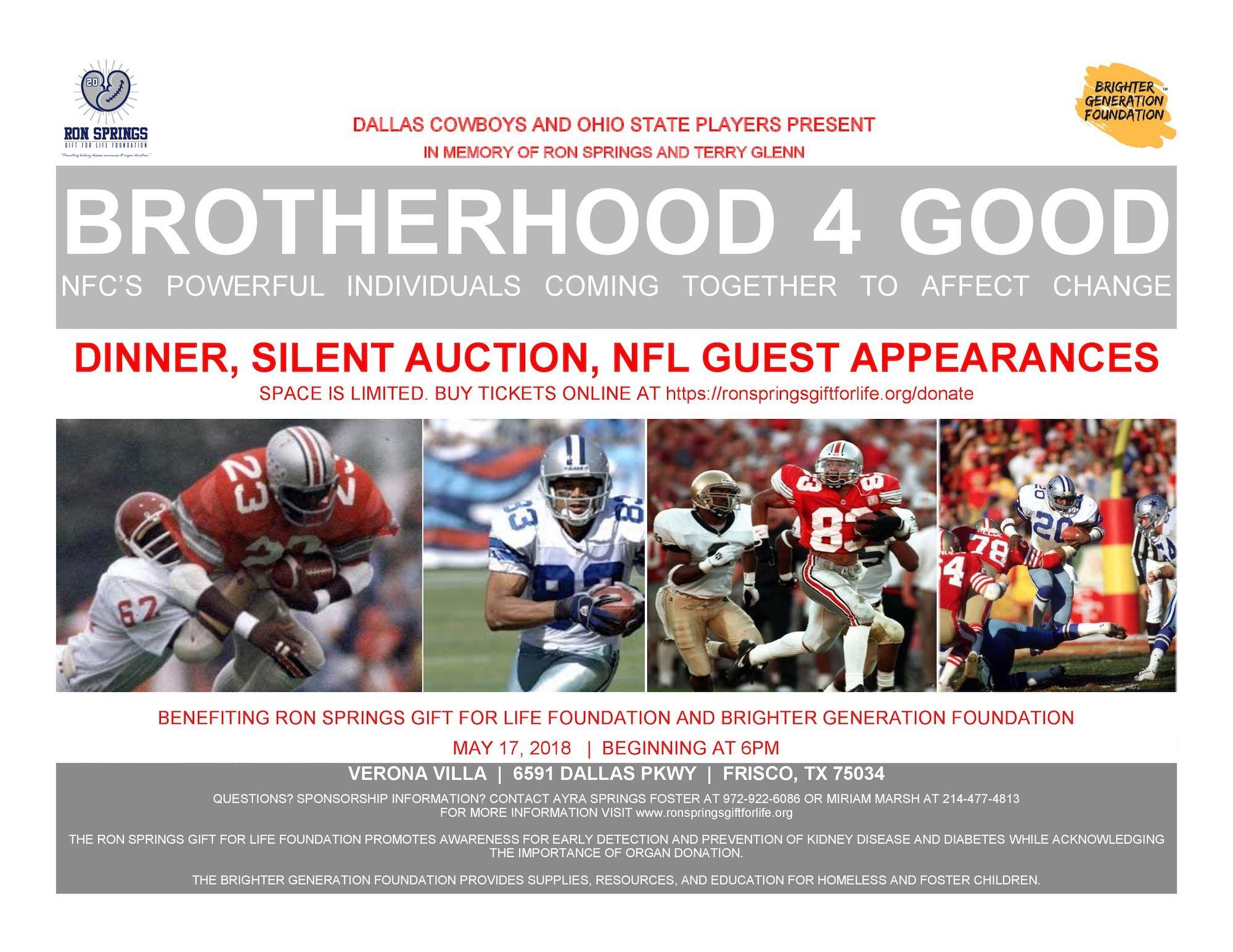 Brotherhood 4 Good Charity Dinner