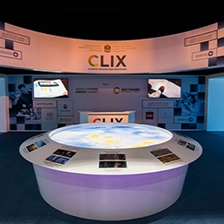 CLIX entrance