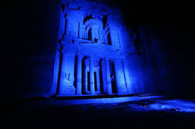 Petra in Blue for Autism Awareness