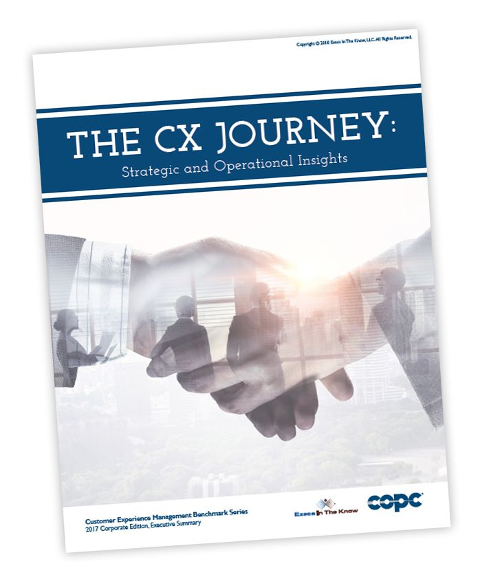 Execs In The Know Copc Inc Publish 2017 Corporate Edition In Cxmb