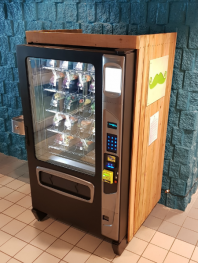 The Green Moustache Vending Machine