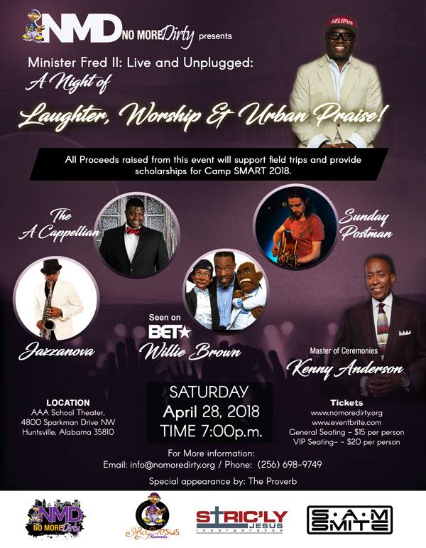 a night of laughter worship and praise