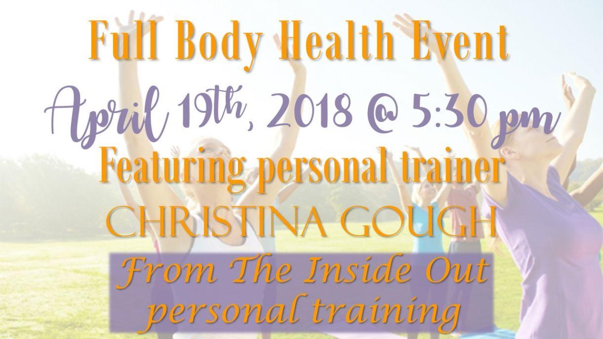 Full Body Health Event
