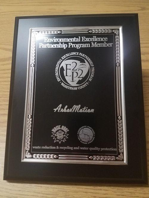 Washtenaw County's Environmental Excellence Award