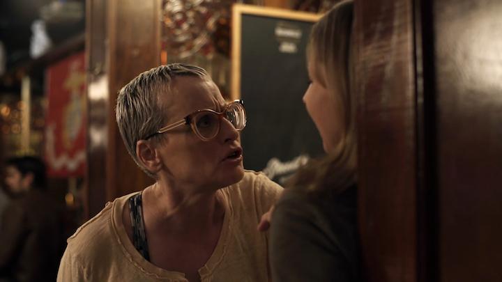 Lori Petty and Linda Burzynski in Fear, Love, and Agoraphobia