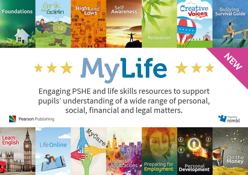 Launching with 15 titles, MyLife will continue to grow