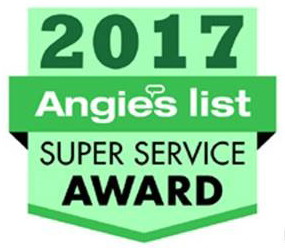 Exact Solar receives the 2017 Angie's List Super Service Award